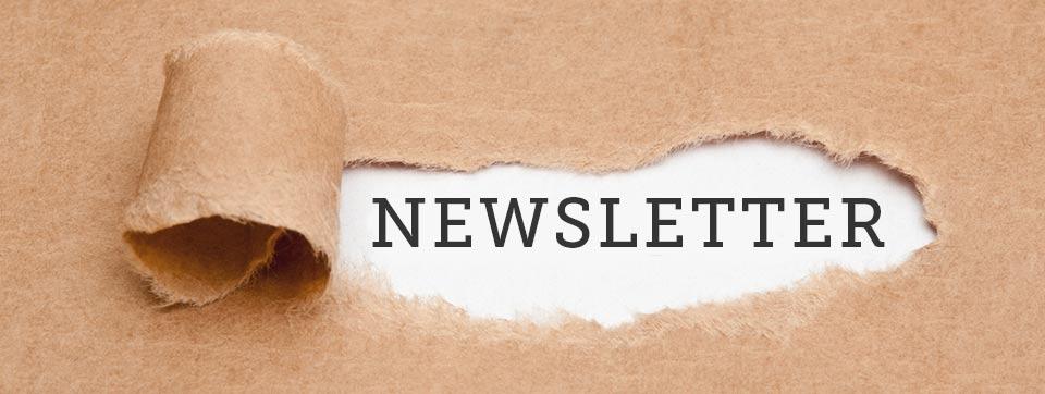 Melde Dich an zum Newsletter von Web & Wissen!