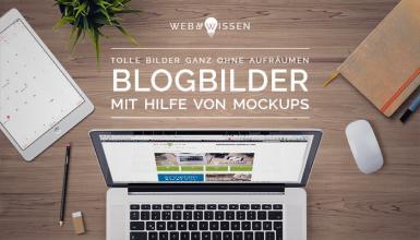Blogbilder mit Mockups und Smartobjekten erstellen