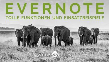 Evernote: Funktionen und Einsatzbeispiele