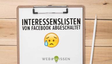 Facebook Interessenisten Alternative